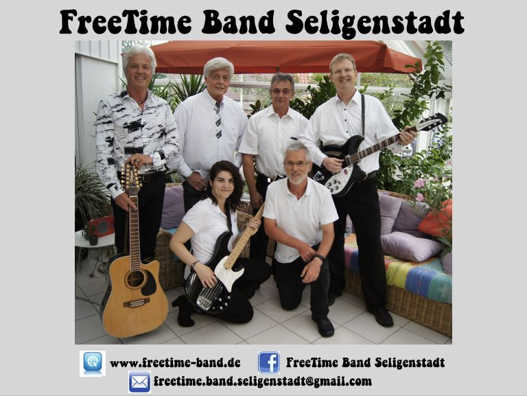 Plakat FreeTime Band_A4_grau